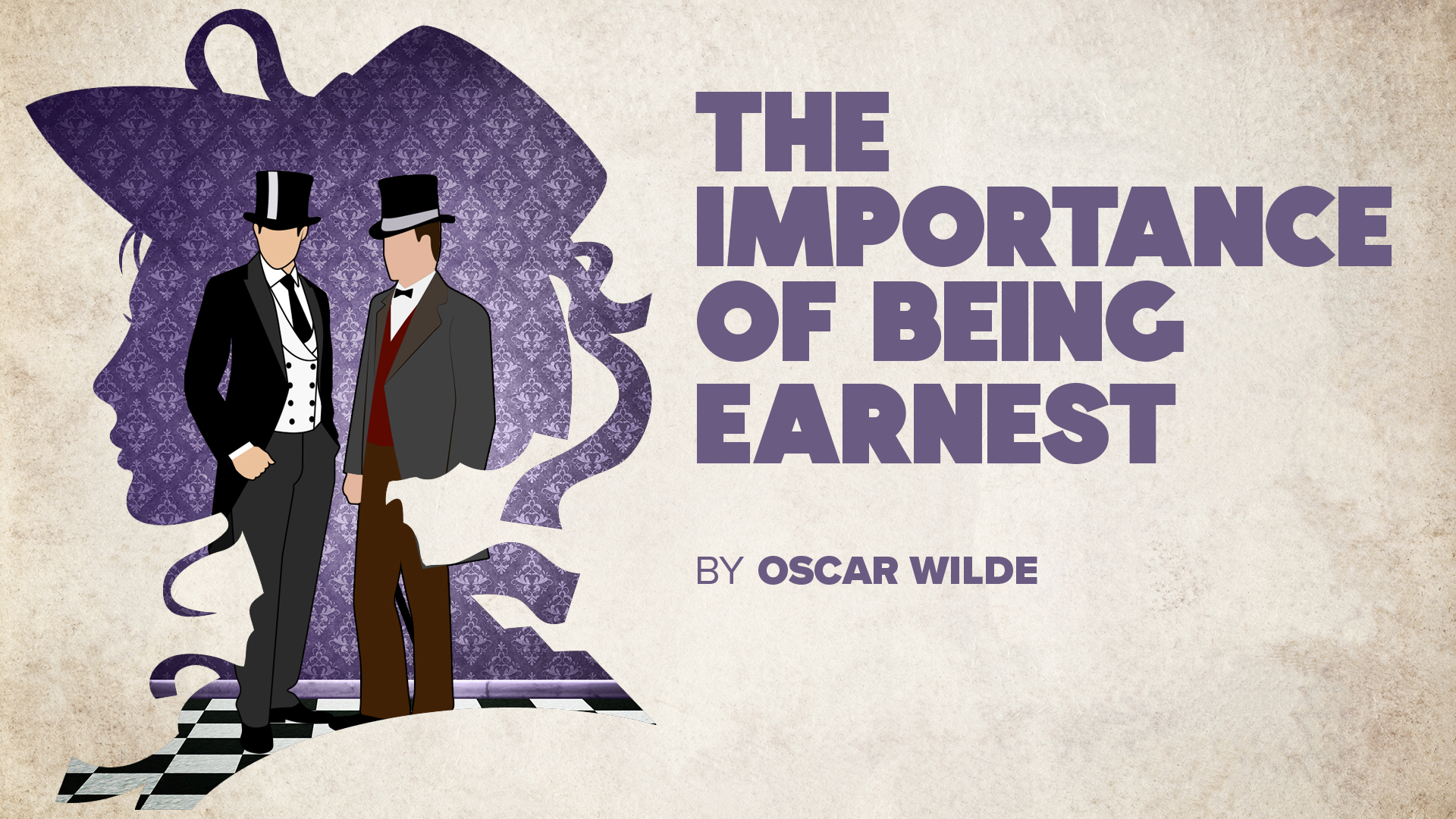 The Importance of Being Earnest Title Card with Credits
